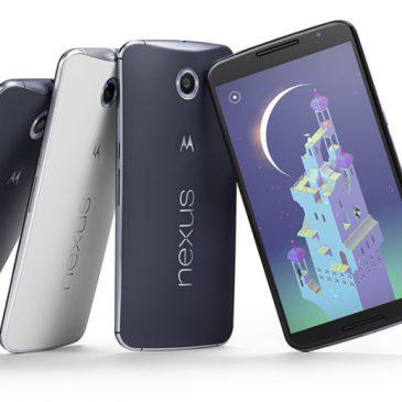 Android Lollipop 5.0 y los nuevos dispositivos Nexus 6 y Nexus 9.
