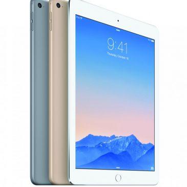 Los nuevos iPad Air 2 y iPad Mini 3