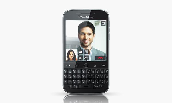 Blackberry vuelve a sus inicios con la nueva Blackberry Classic