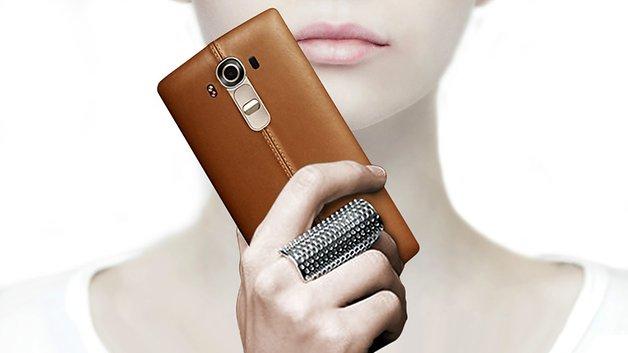 LG G4 ¿de cuero?