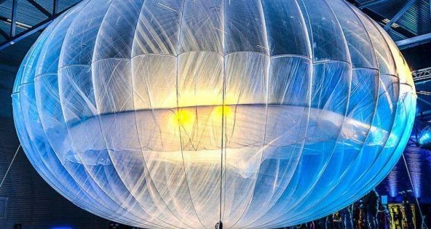 Globos aerostáticos para mejorar la cobertura móvil