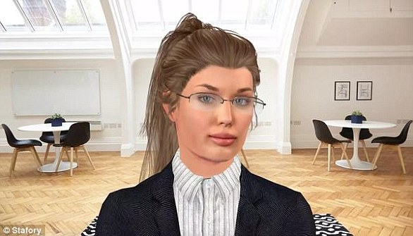 Vera, el robot inteligente que realiza entrevistas de trabajo