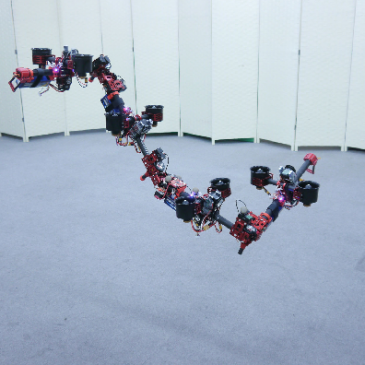 Dragon, el robot volador modular que cambia de forma